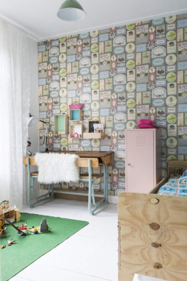 kid's bedroom with color and ideas