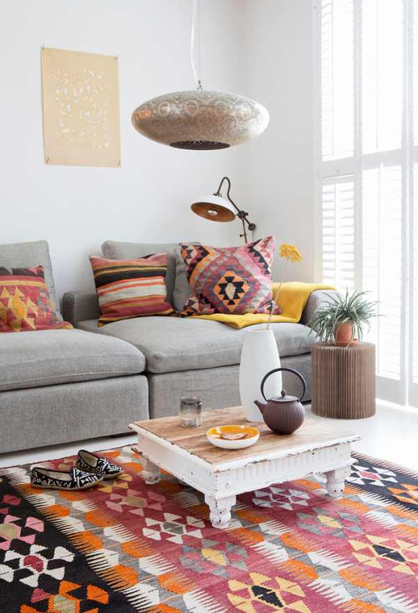 decor with colors and textures -reuse