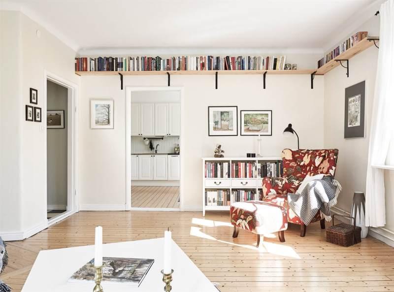 Decorate and organize books