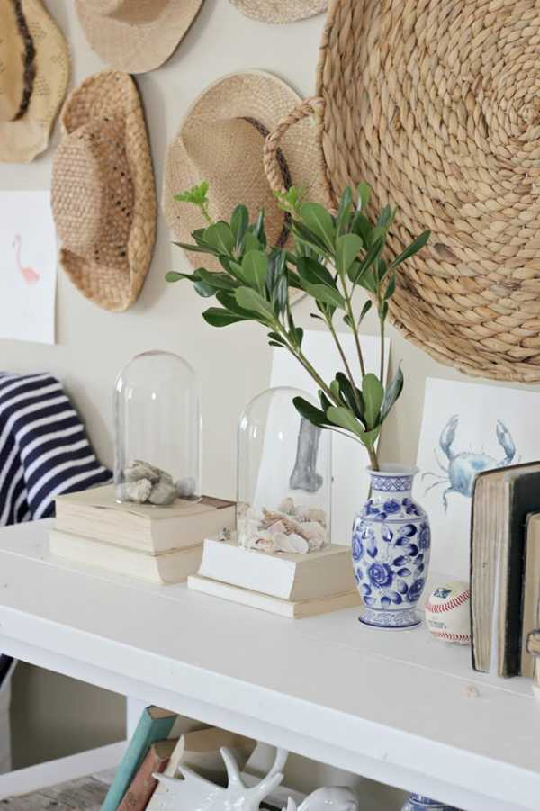 decorate with personal accesories