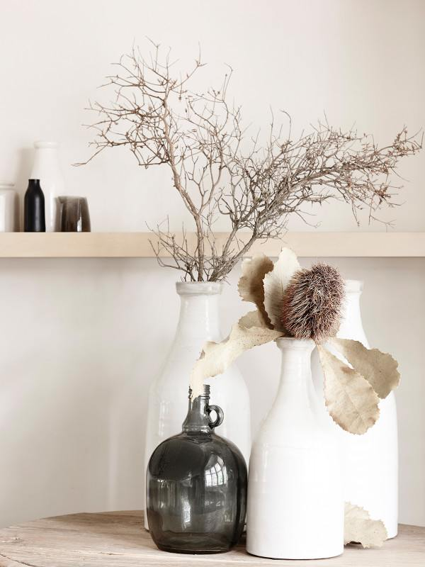 Decorating wiht natural elements