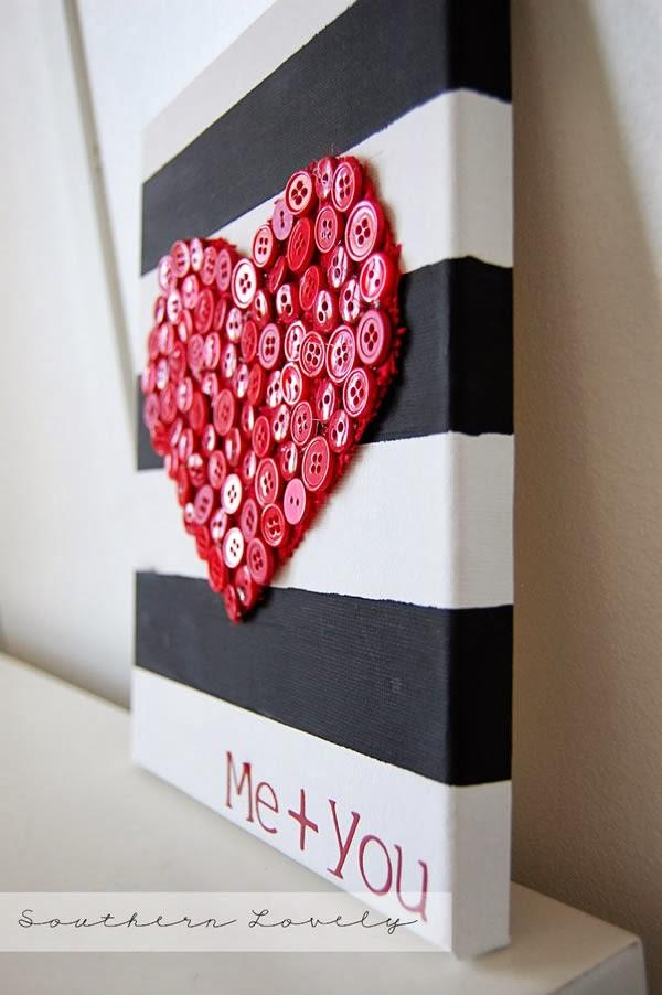 Valentines Ideas: Simple DIY and decor