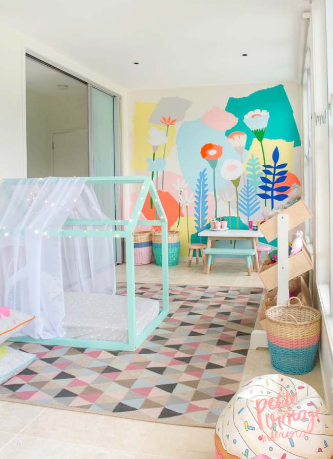 Idea for a kids bedroom