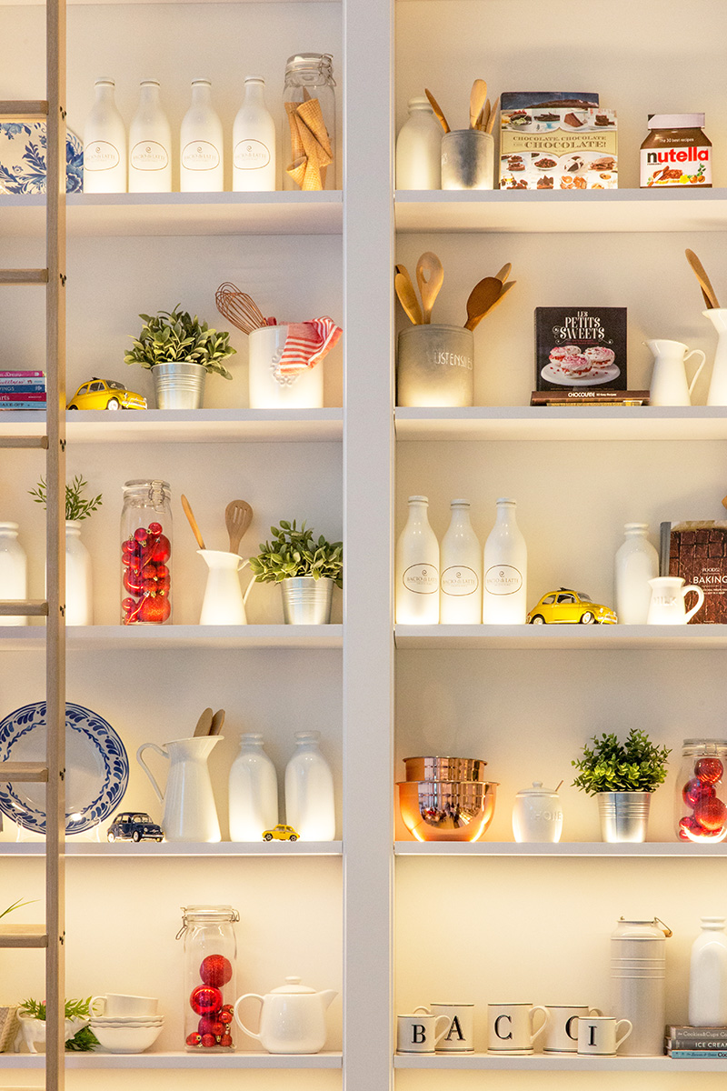Shelf and shelves, decorative and  practical