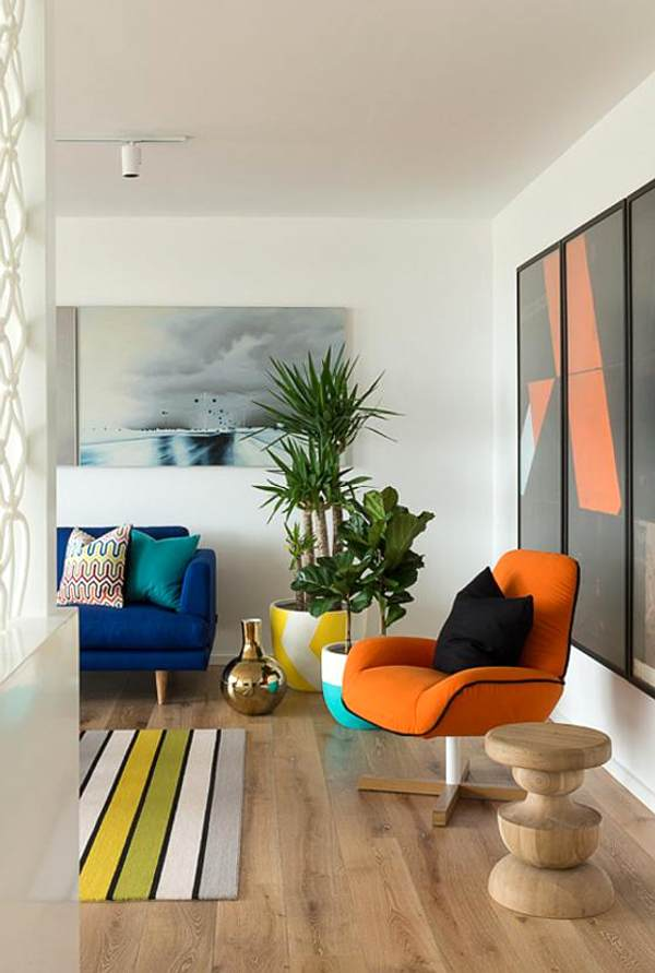 How to Get a Colorful Living Room