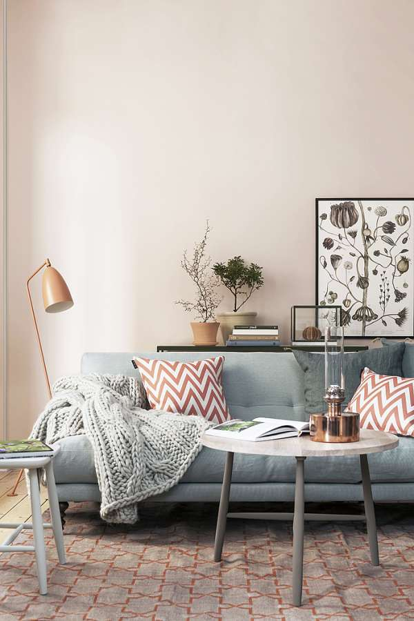 Decorate the living room with vegetable touch