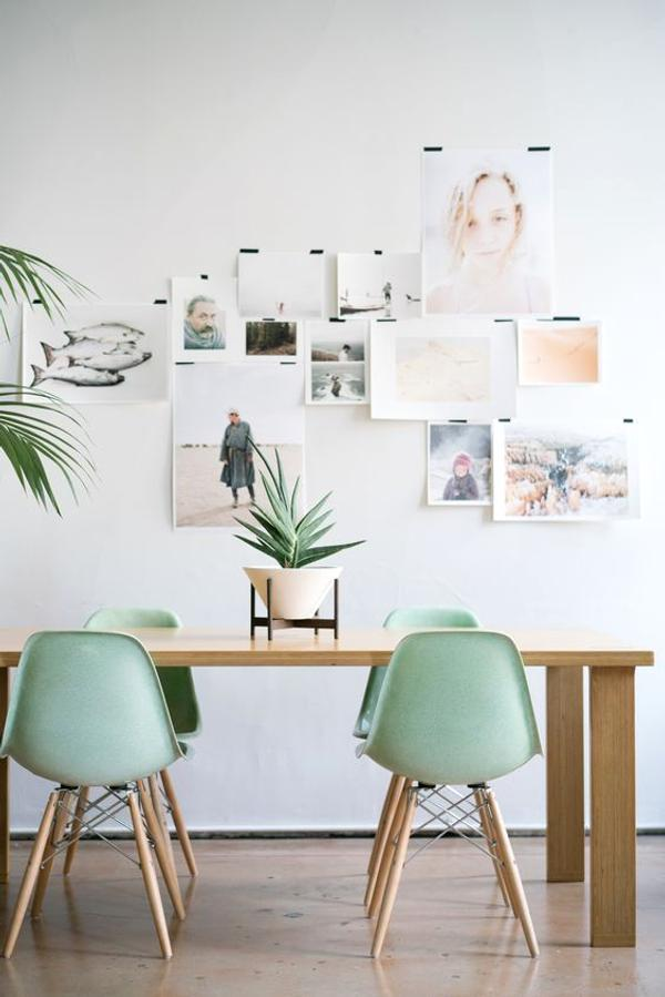 Modern dining room: 5 simple ideas